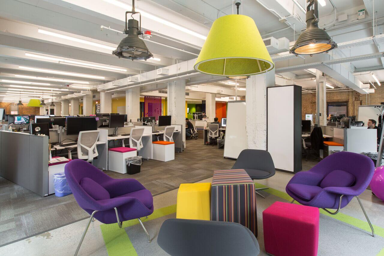 Furnished tech office space sublease in hudson square for Design a space online